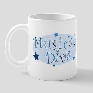 """Musical Diva"" [blue] Mug"